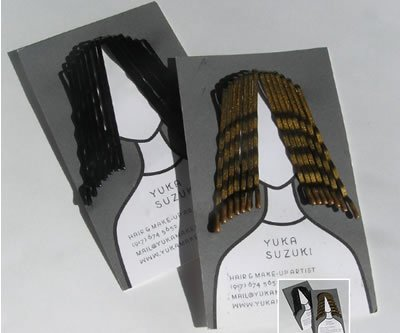 Bobby Pin Business Card
