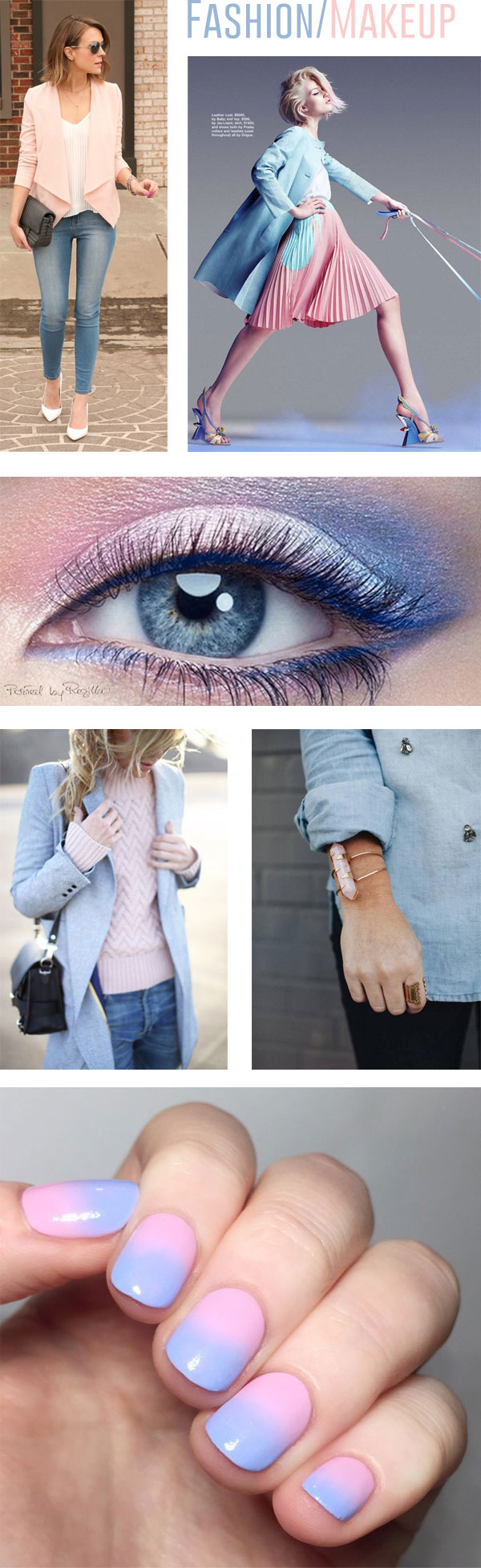 Pantone Color of the Year 2016 Fashion/Makeup