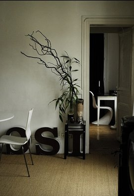 typography in home decorating