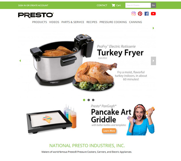 Presto Appliances