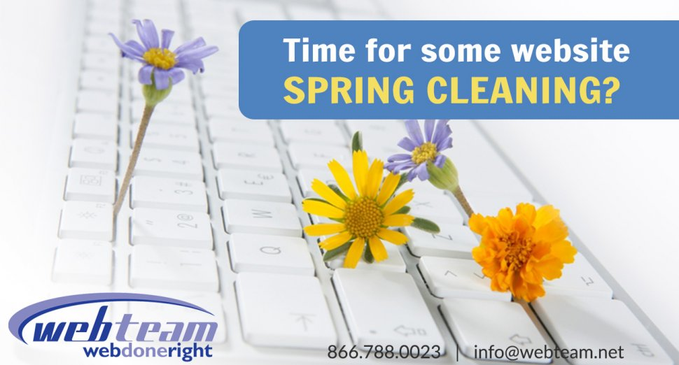 Tips for Spring Cleaning your Website