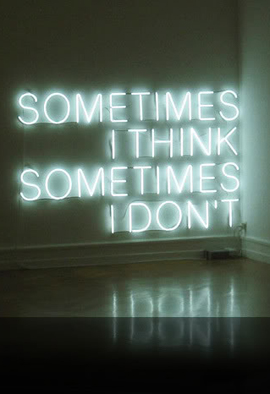 Neon Typographic Decor