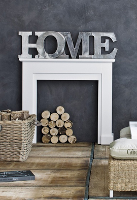 Typography Iin Home Decor Metal Home Letters