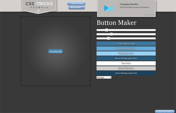 CSS-Tricks Button Maker