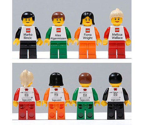 Lego Employees Business Card