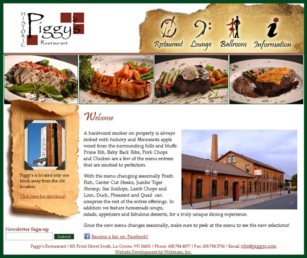 Piggy's Restaurant Before